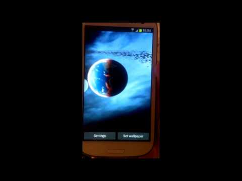 Video of 3D Space Live Wallpaper Free