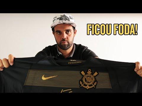 Unboxing da nova camisa do Corinthians - Ayrton Senna 1c1d2df52ffbc