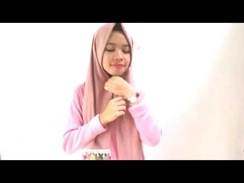 Video Tutorial jilbab pashmina tassel simpel