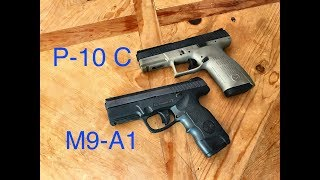 CZ P-10 C vs Steyr M9-A1  -  If I Could Only Have One...