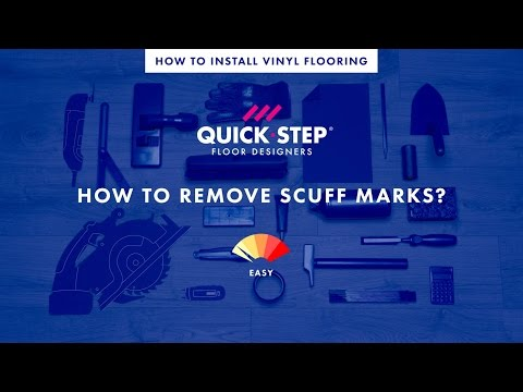 How to remove scuff marks from a vinyl floor | Tutorial by Quick-Step
