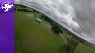 360 FPV Video - Raw Maiden Flight - Very Heavy 6s Racer Burdened with a Huge Camera