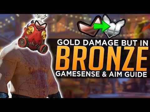 Overwatch: Why This Roadhog is STUCK in Bronze! - Gamesense & Aim Git Gud Guide