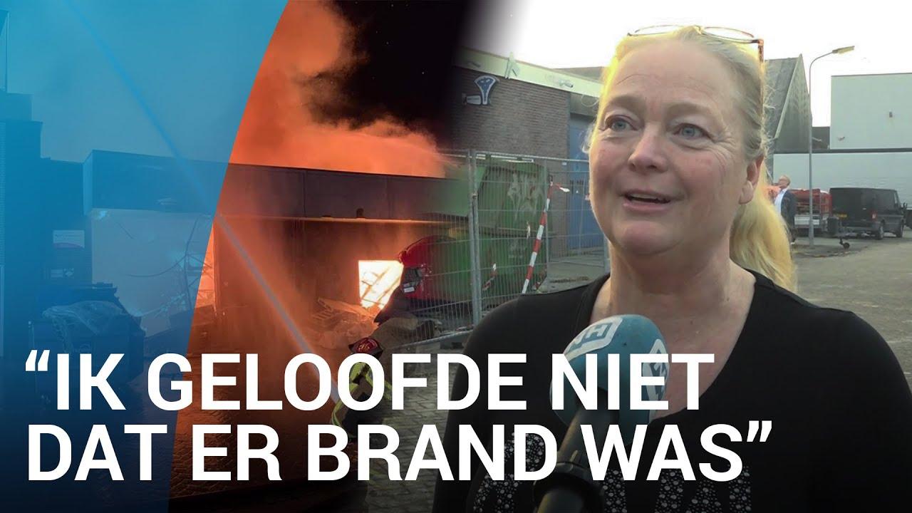 Buurt helpt Ellen met evacuatie bij verwoestende brand in Volendam
