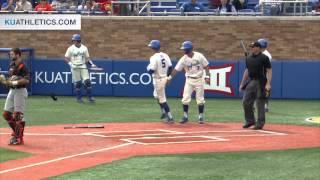 KU beats OSU 3-2  // Kansas Baseball // 4.11.15