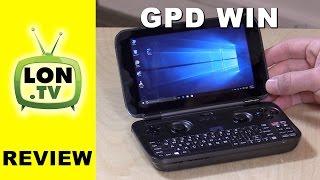 GPD WIN Review - Portable Handheld Windows PC - Gaming, Game Streaming, Emulators