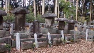柳生一族の墓所の風景奈良市柳生町