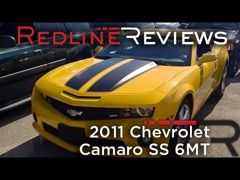 2011 Chevrolet Camaro SS 6MT Review, Walkaround, Exhaust