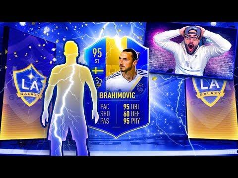 OMG I GOT 95 TOTS IBRAHIMOVIC! FIFA 19 Ultimate Team RTG