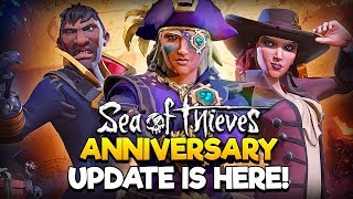 Sea of Thieves - Anniversary Patch Live with MixelPlx - Doing ALL TALL TALES!