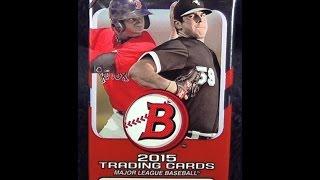2015 Bowman Baseball Card Pack Opening Autograph Card