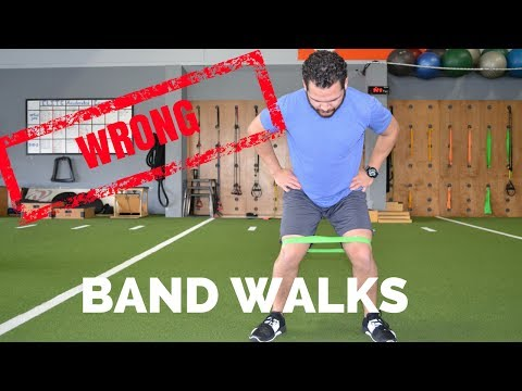 Band Walks...You're Doing It WRONG