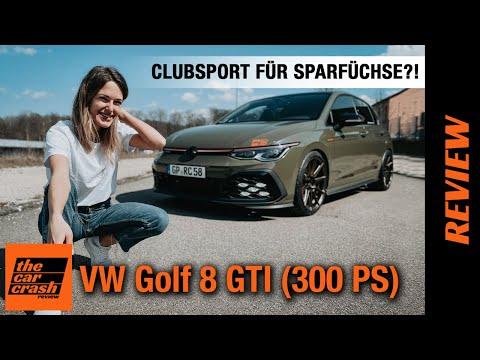VW Golf 8 GTI mit 300 PS (2021) Geht so Clubsport für Sparfüchse?! 🤓 Fahrbericht | Review | Test