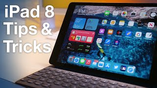 How to use iPad 8th gen + Tips/Tricks!