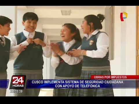 Cusco implementa sistema de seguridad ciudadana con apoyo de Telefónica