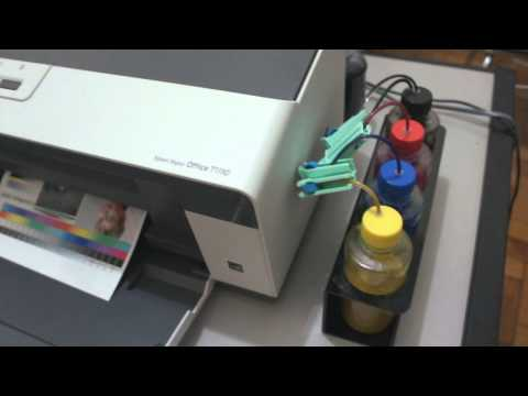 Mini Plotter Eco Solvente Epson T1110