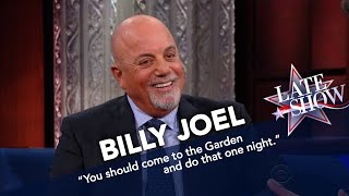 Billy Joel on 'The Late Show with Stephen Colbert' Interview (Part 1 – January 9, 2017)