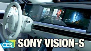 Sony Vision-S : la plus grosse surprise du #CES2020