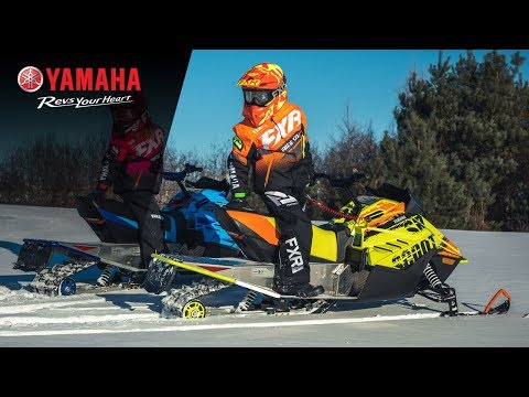 2020 Yamaha SRX120R in Spencerport, New York - Video 1