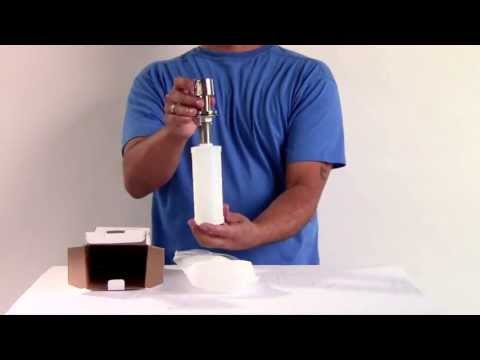 Video for Solid Stainless Steel Modern Soap Dispenser