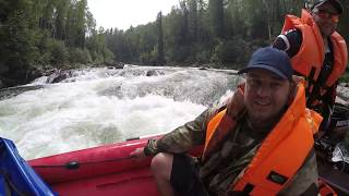 Сплавы по рекам сибири рыбалка