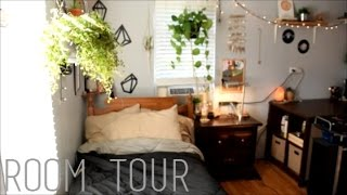 Room Tour 2016/2017 Hippie, Tumblr, Boho.
