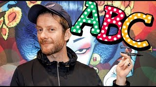 Learn The Alphabet With Jamie Hewlett