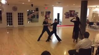 Kathleen Stokes dancing her showcase before Dance Fantasy.