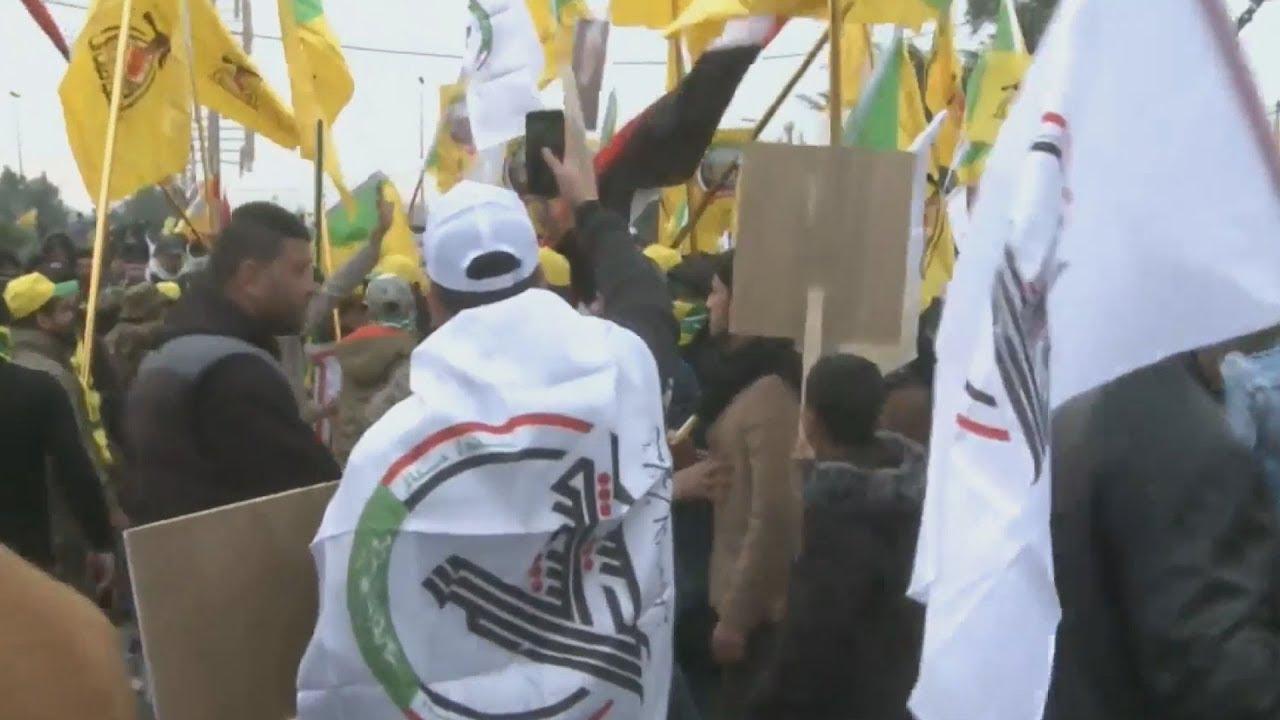 Χιλιάδες Ιρακινοί φώναζαν «Θάνατος στην Αμερική» στη κηδεία του Σουλεϊμανί