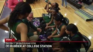 Rudder Sweeps the Season Series Over College Station, 67-45