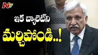 CEC Sunil Arora Responds Over EVMs Tampering Allegations and Denies Paper Ballots Proposal | NTV