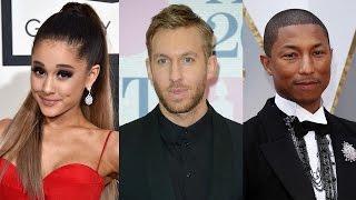 """Ariana Grande Teams Up With Calvin Harris & Pharrell For New Single """"Heatstroke"""""""