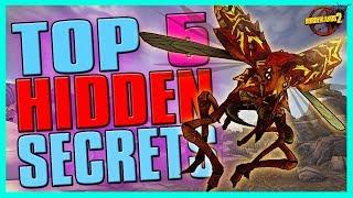 TOP 5 HIDDEN SECRETS IN BORDERLANDS 2