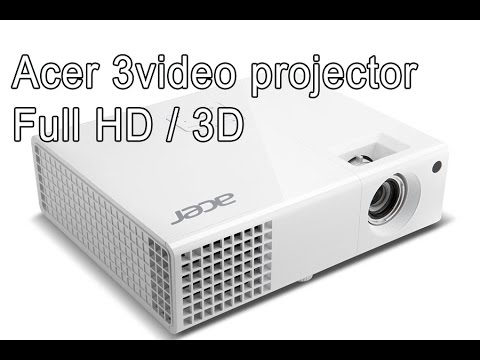Acer Video projector 3D Full HD – H6510BD, full review, tips for lamp life, watching movies – PART 1