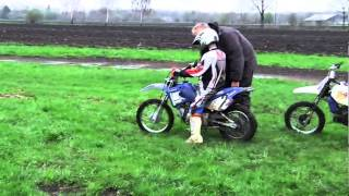 preview picture of video 'Motocross Schnuppertraining Yamaha PW50 PW80 TTR90 Chinacrosser 125 ccm'