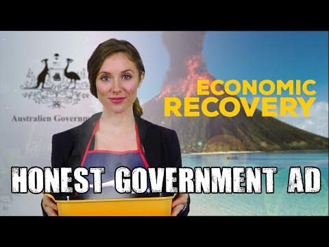 Honest Government Ad | Economic Recovery