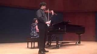 Preludium and Allegro - Brian Hong