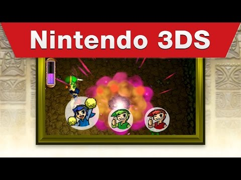 Nintendo 3DS - The Legend of Zelda: Tri Force Heroes E3 2015 Trailer thumbnail