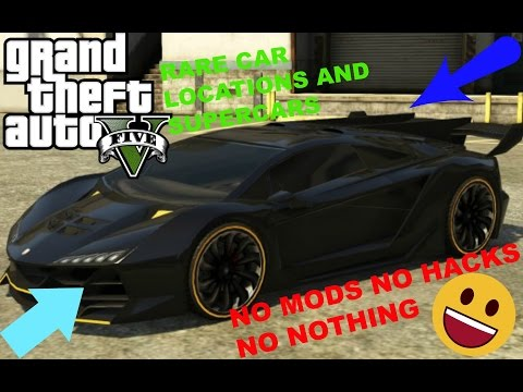Rare Sports Cars -  How To Find Rare Cars In GTA 5 Story Mode 2019