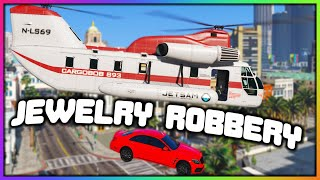 GTA 5 Roleplay - JEWELRY STORE HELICOPTER ROBBERY | RedlineRP