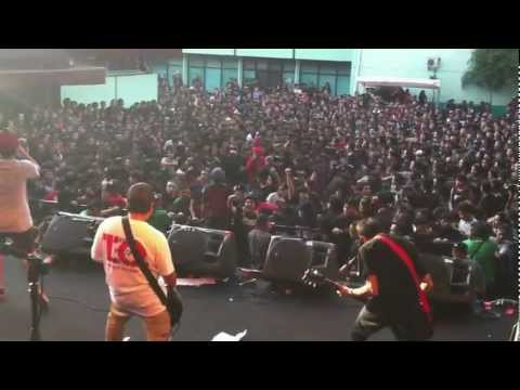 Final Attack - Can't Breakaway @ high voltage fest, bulungan outdoor