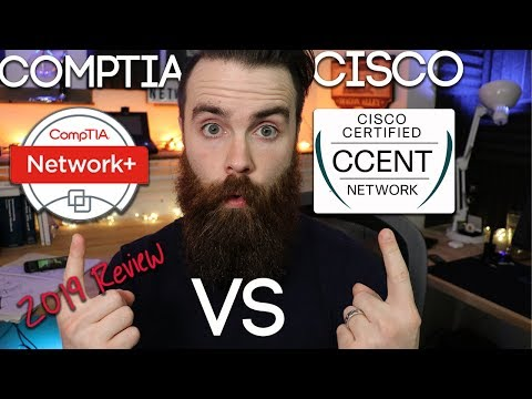 CompTIA or Cisco? - Revisiting CCENT vs Network+ in 2019 ...