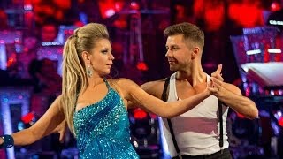 Rachel Riley & Pasha dance the Cha Cha to 'When Love Takes Over' - Strictly Come Dancing - BBC