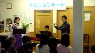 トトロより「風のとおり道」(久石譲作曲)/2本のフルートとピアノ