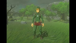 Zelda Breath of the Wild Tingle's Outfit Locations EX Treasure Fairy Clothes