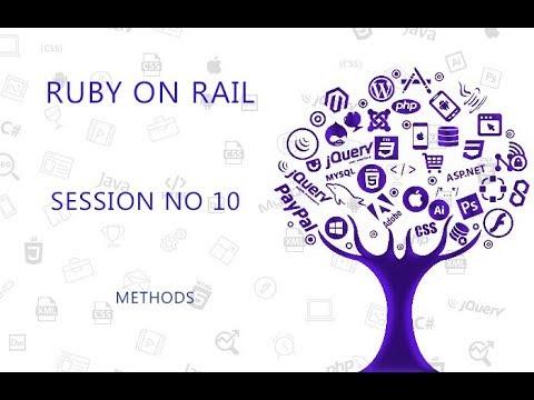 Ruby Programming Tutorial 10 Methods