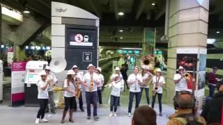 Fanfare Montparnasse TGV grand Ouest