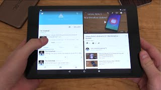 Android N Split Screen Hands On