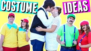 🎃  DIY HALLOWEEN COSTUMES FOR BEST FRIENDS & COUPLES! 2016 HALLOWEEN COSTUME IDEAS FOR TEENS!