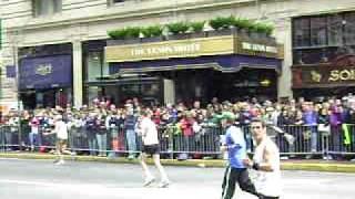 JAVIER SAVAGE LINO BOSTON MARATHON 2009 LLEGADA